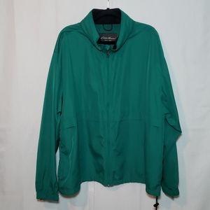 🌿Eddie Bauer Windbreaker Full Zip Hooded Jacket